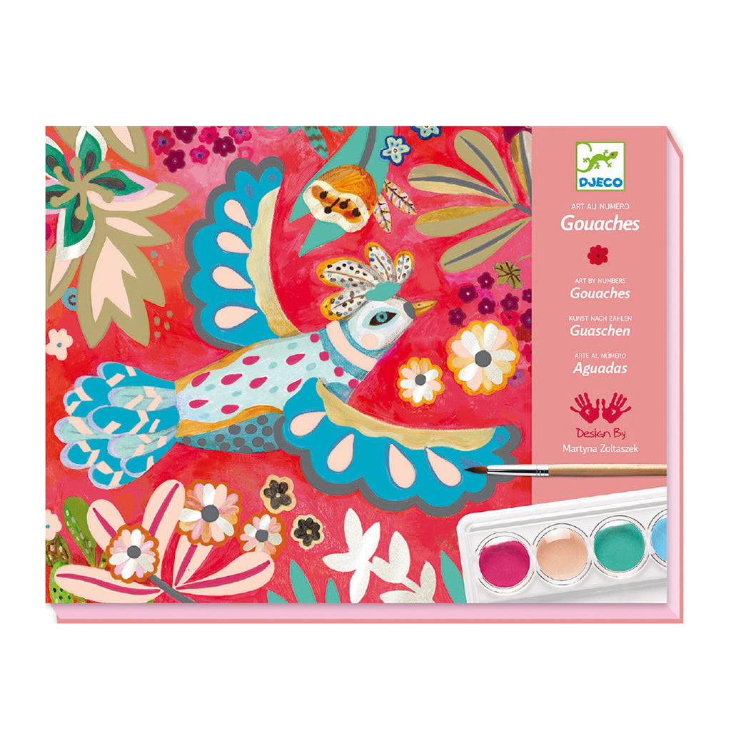 "Djeco - Paint-By-Number Kit ""Melody"" 