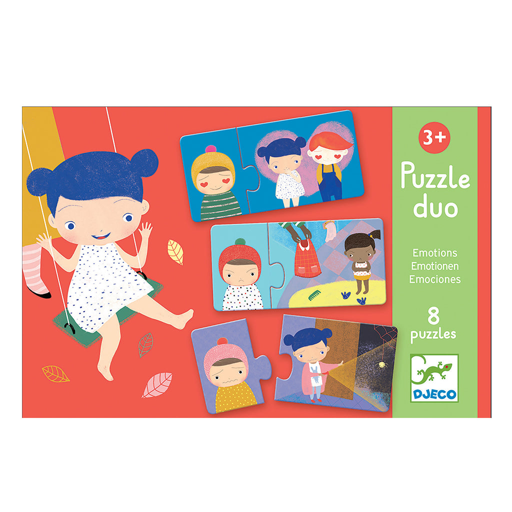 Djeco - Puzzle Duo - Emotions | Mapamundi Kids