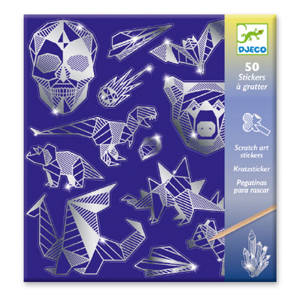 Djeco - Stickers - Iron Scratch Art | Mapamundi Kids