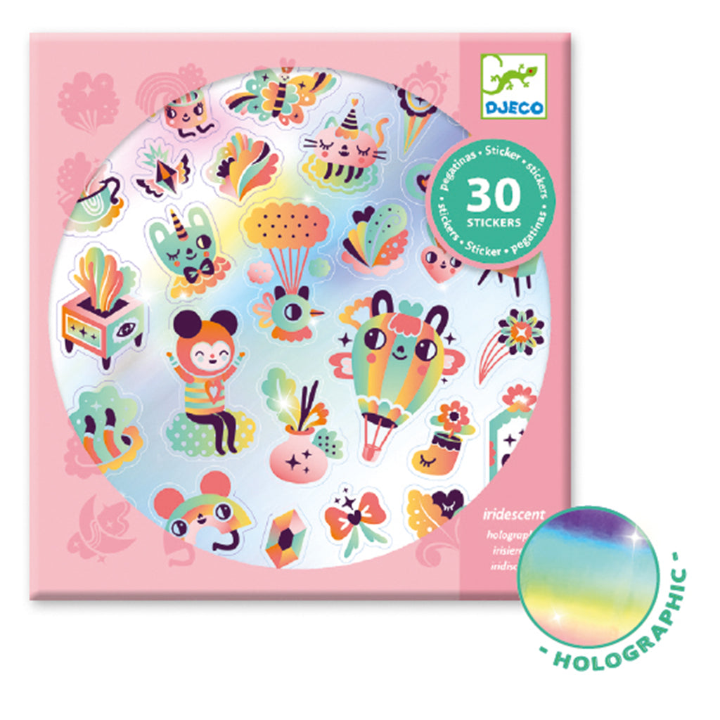 Djeco - Stickers - Holo Lovely Rainbow | Mapamundi Kids