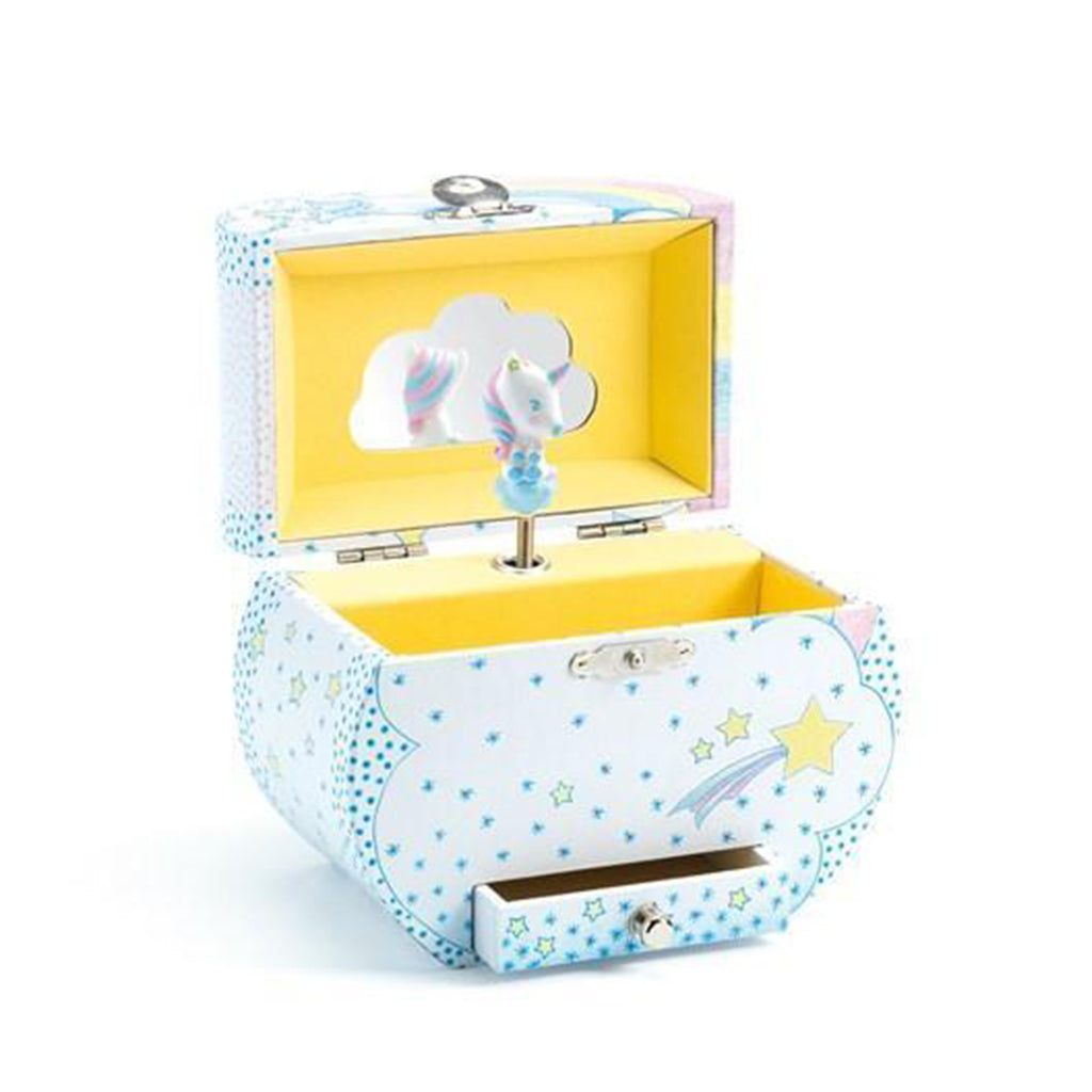 Djeco - Unicorn Dreams Music Box - Designed in France