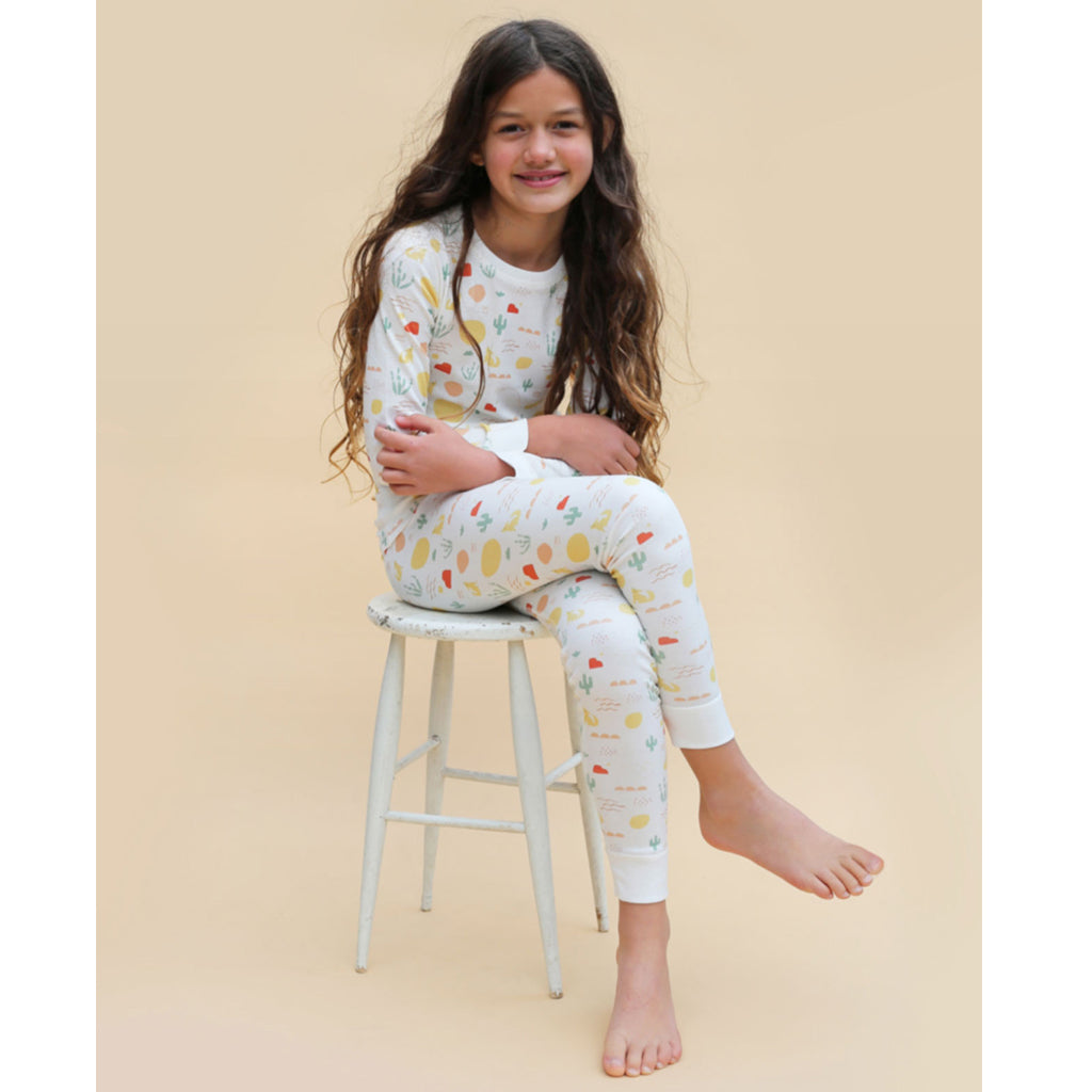 Dodo Banana - Organic Two Piece Pajama Set - Desert | Mapamundi Kids