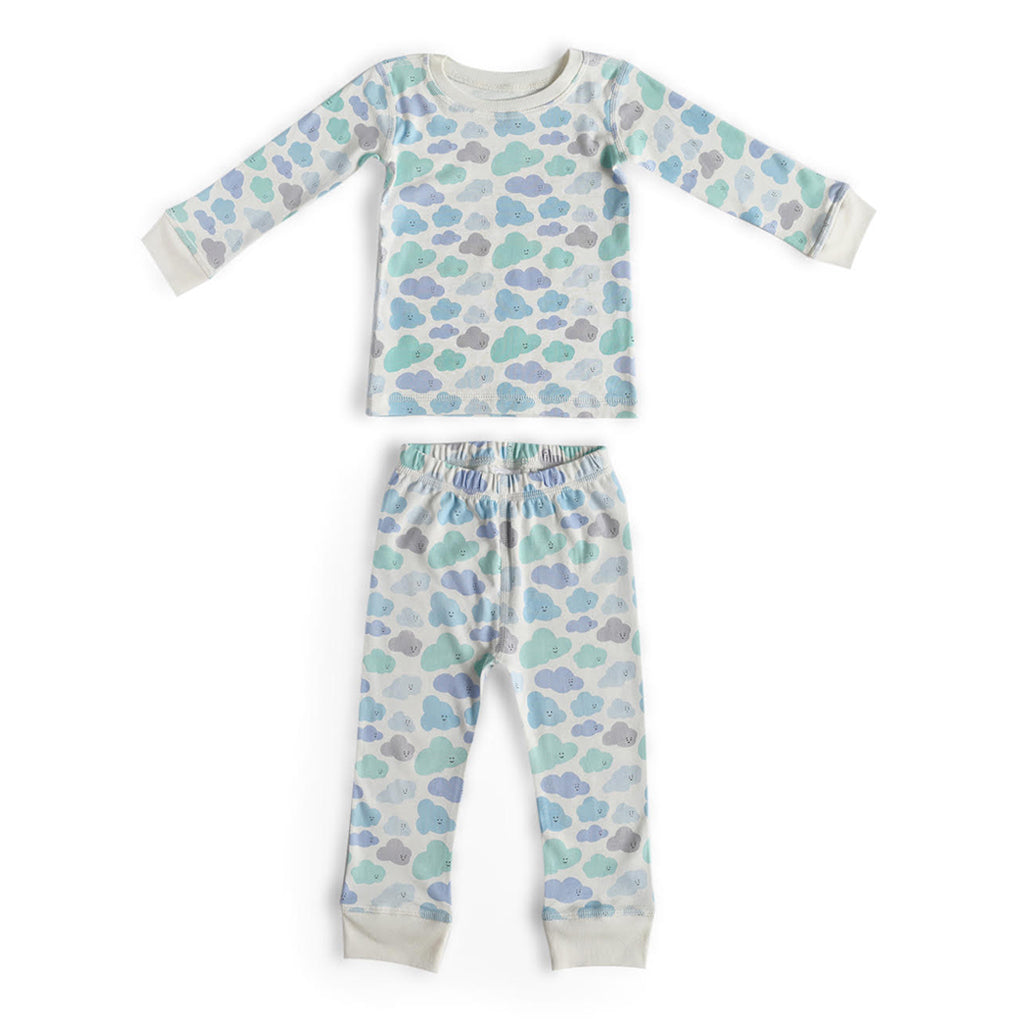 Dodo Banana - Two Piece Pajama Set - Clouds | Mapamundi Kids