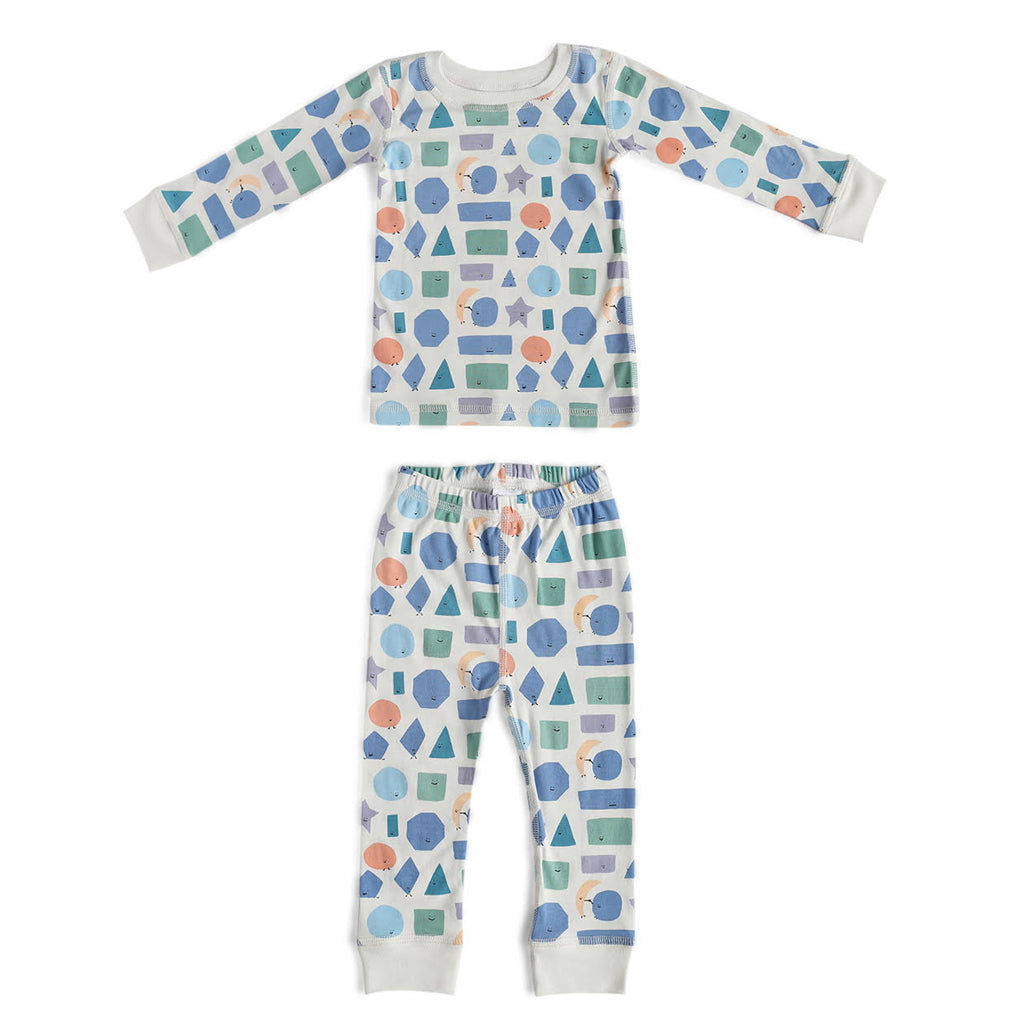 Dodo Banana - Two Piece Pajama Set - Shapes | Mapamundi Kids