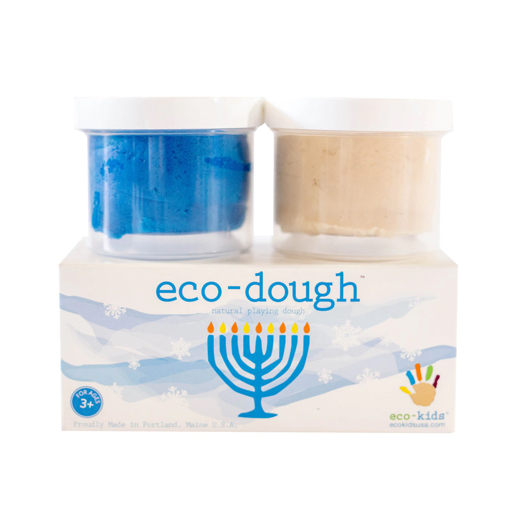Eco-Kids - Eco Dough 2 Pc Set - Menorah | Mapamundi Kids