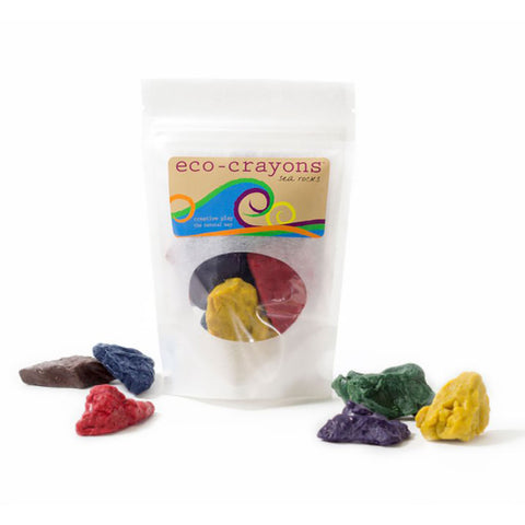 Eco-Kids - Natural Sea Rock Crayon Set - Made in the USA