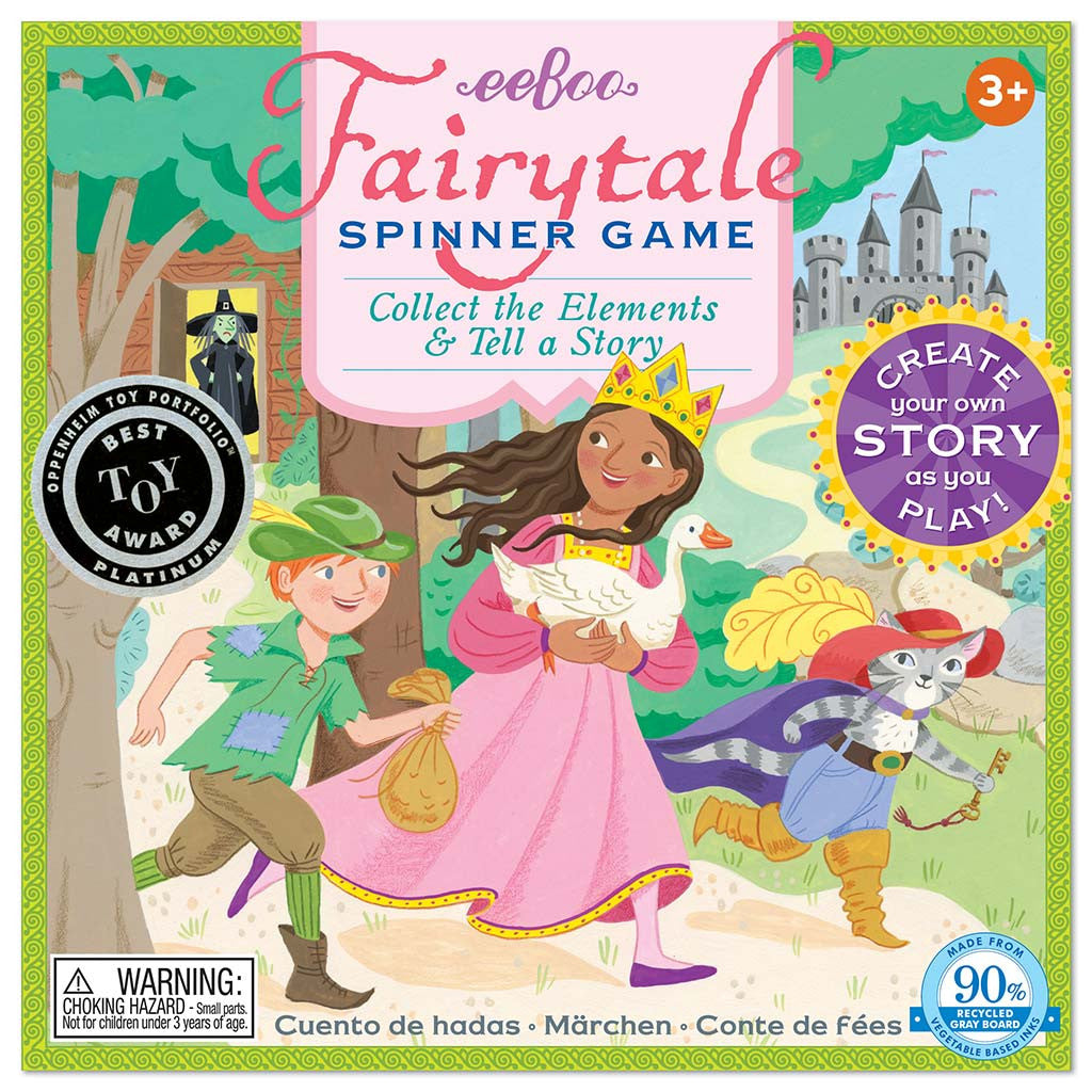 Eeboo - Fairytale Spinner Game