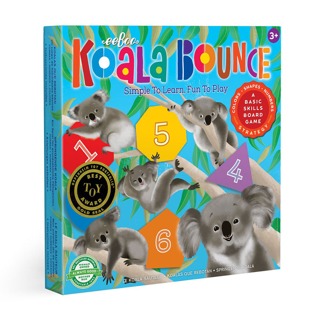Eeboo - Koala Bounce Board Game | Mapamundi Kids