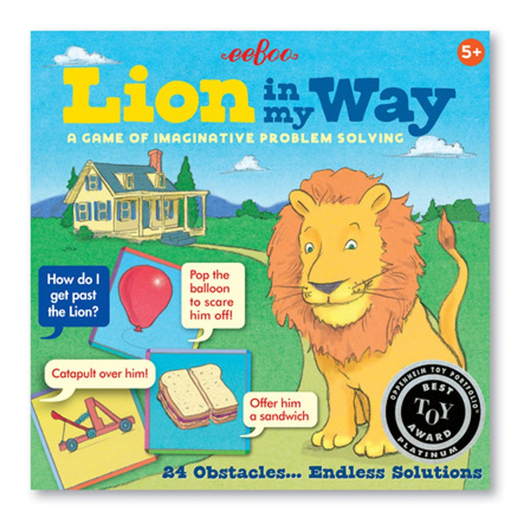 Eeboo - Lion in My Way Game