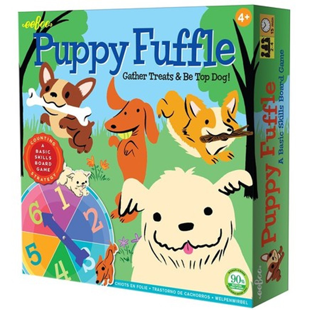 Eeboo - Puppy Fuffle Board Game