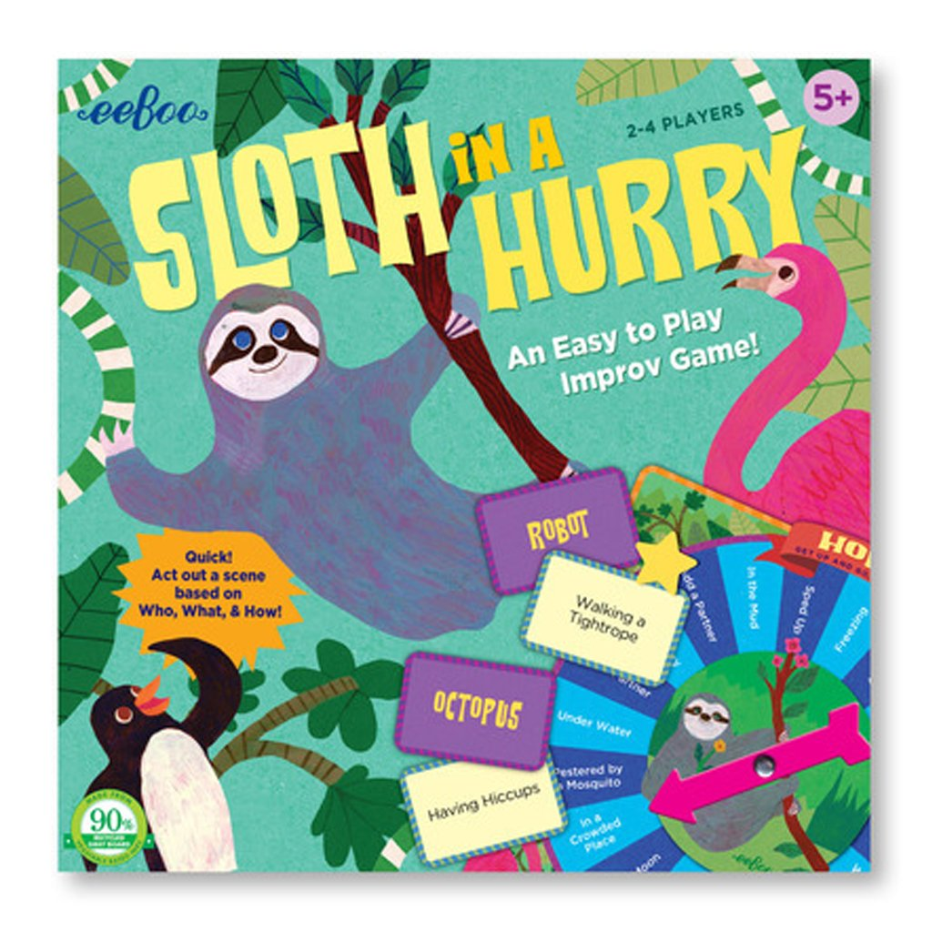 Eeboo - Sloth In a Hurry Action Game