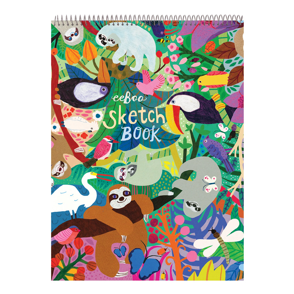 Eeboo - Sloths Sketchbook | Mapamundi Kids