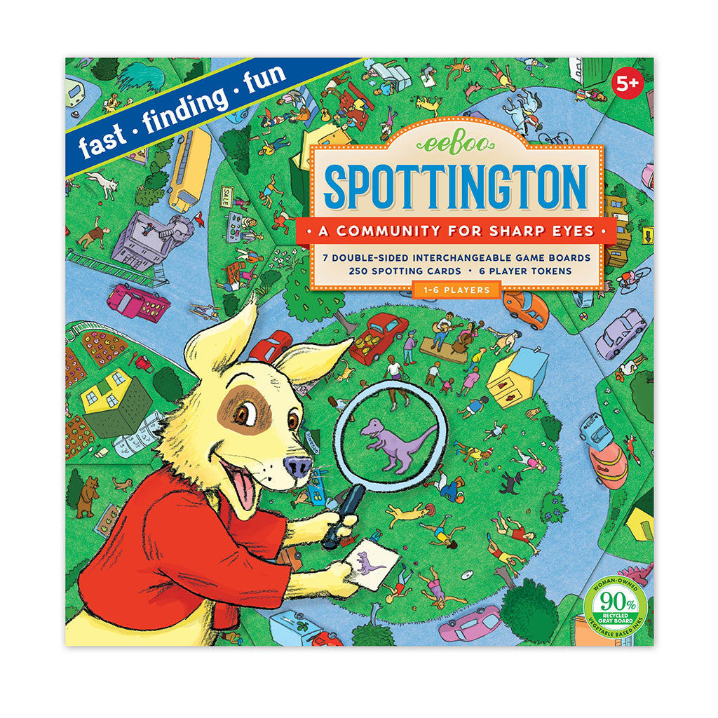 Eeboo - Spottington Board Game