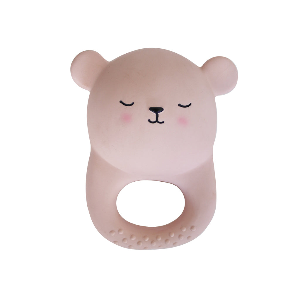 Eef Lillemor - Lion Soothing Toy in Pink | Mapamundi Kids