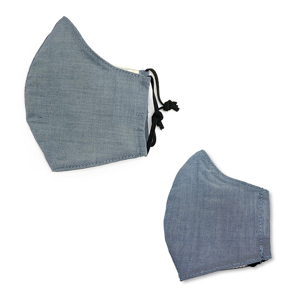 Elliefunday - #SpreadLove Chambray Fabric Kid's Face Mask | Mapamundi Kids