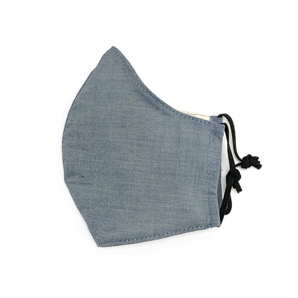 Elliefunday - The #SpreadLove Chambray Face Mask - Adult | Mapamundi Kids