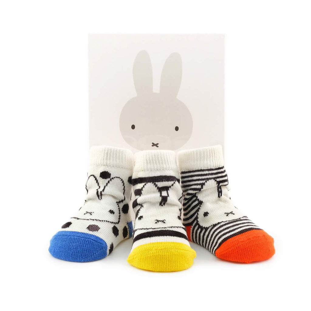 Miffy x Etiquette Classic Baby Socks Bundle - Made in Turkey