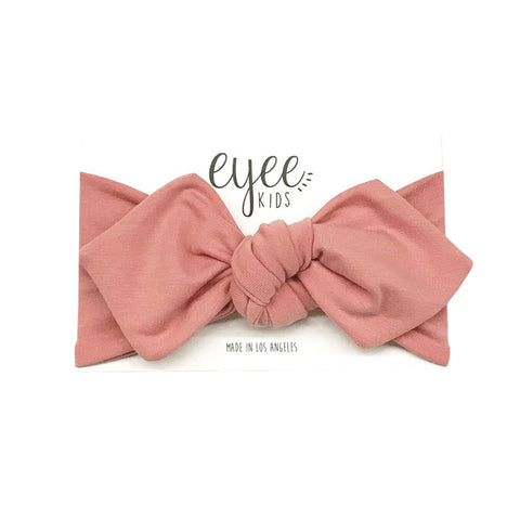 Eyee - Top Knot Headband in Blush - Made in Los Angeles