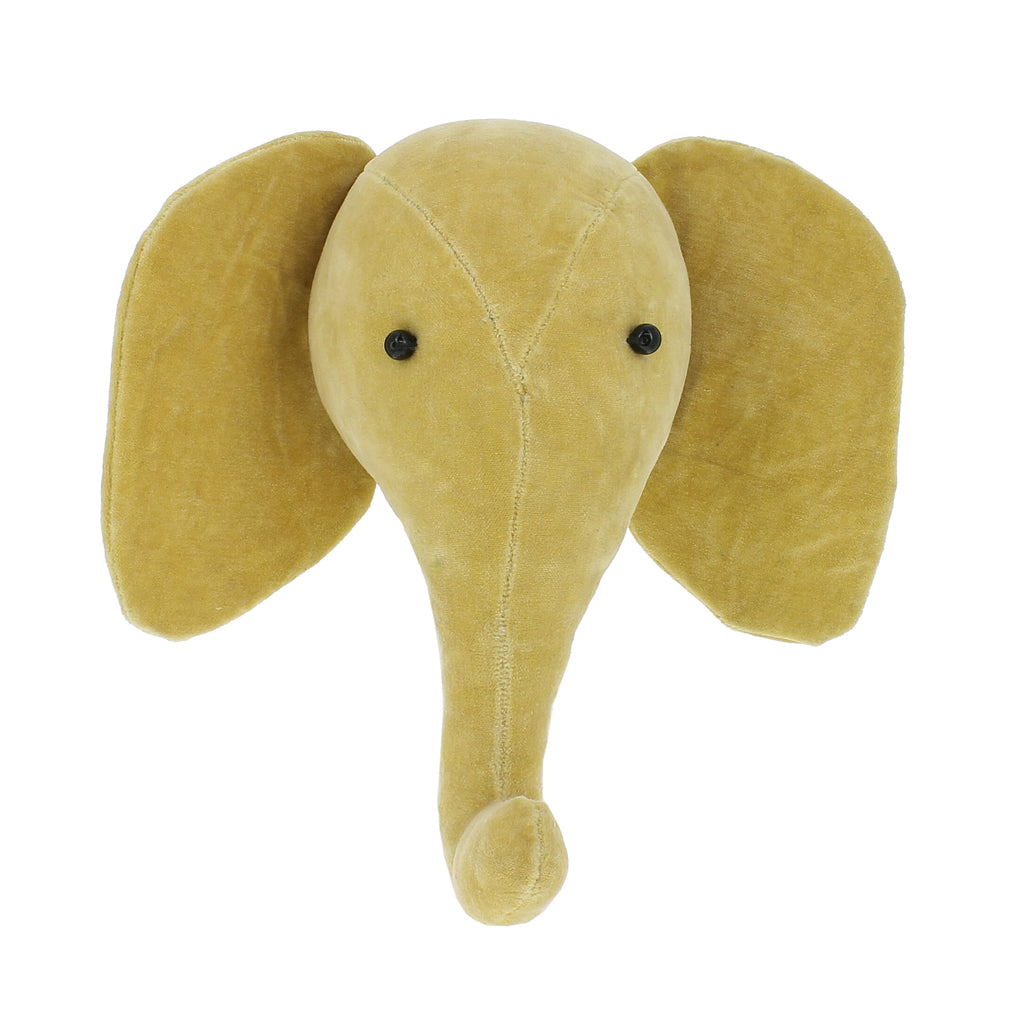 Fiona Walker - Yellow Velvet Mini Elephant | Mapamundi Kids