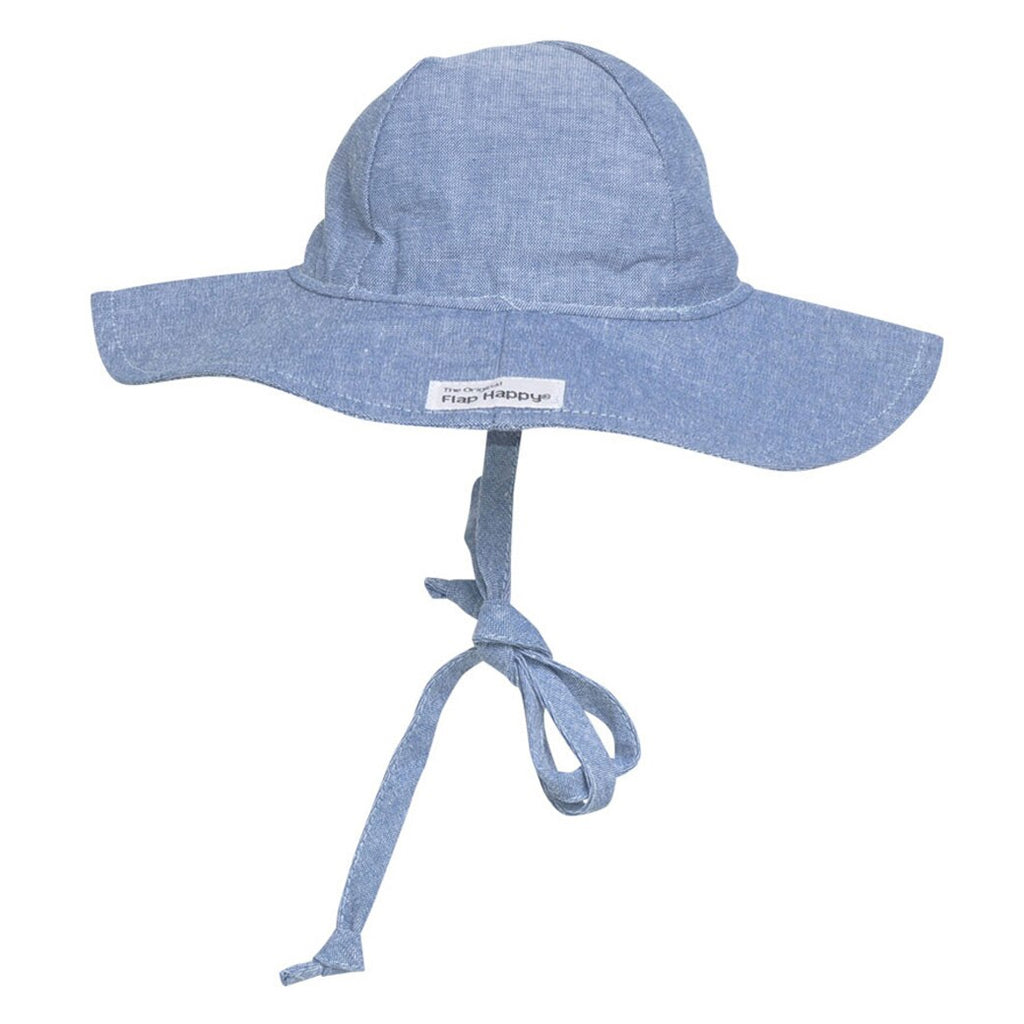 Flap Happy - Floppy Hat - Chambray | Mapamundi Kids