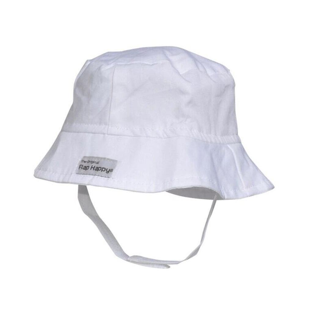 Flap Happy - Bucket Hat - White | Mapamundi Kids