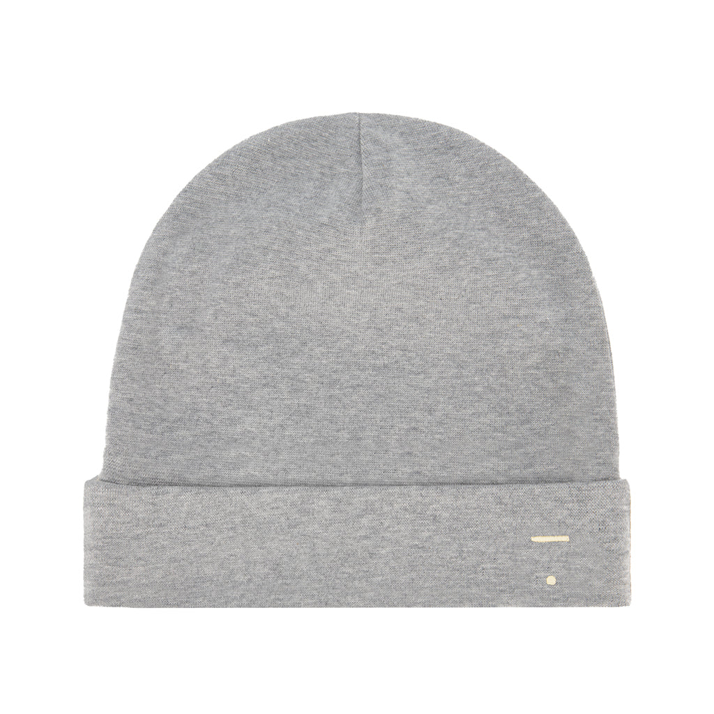 Gray Label AW20 - Knit Beanie - Grey Melange | Mapamundi Kids