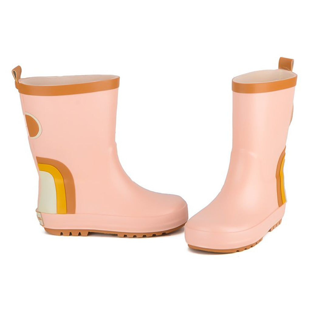 Grech & Co. - Rubber Rain Boots - Rainbow (Shell) | Mapamundi Kids