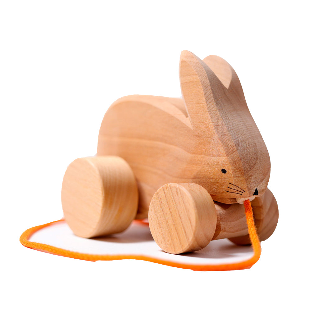 Grimm's Germany - Wooden Bobbing Rabbit Hans | Mapamundi Kids