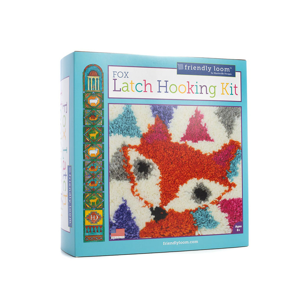 Harrisville Designs - Fox Latch Hooking Kit | Mapamundi Kids