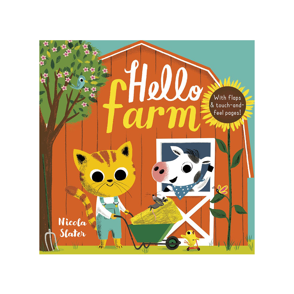 Hello Farm by Nicola Slater | Mapamundi Kids