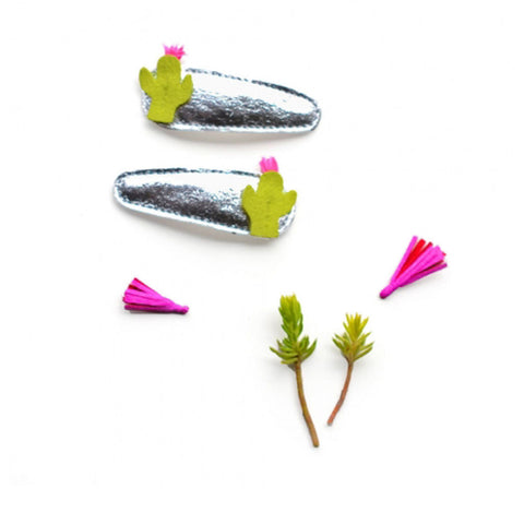 Hello Shiso - Cactus Hair Clips - Designed in Berkeley, CA