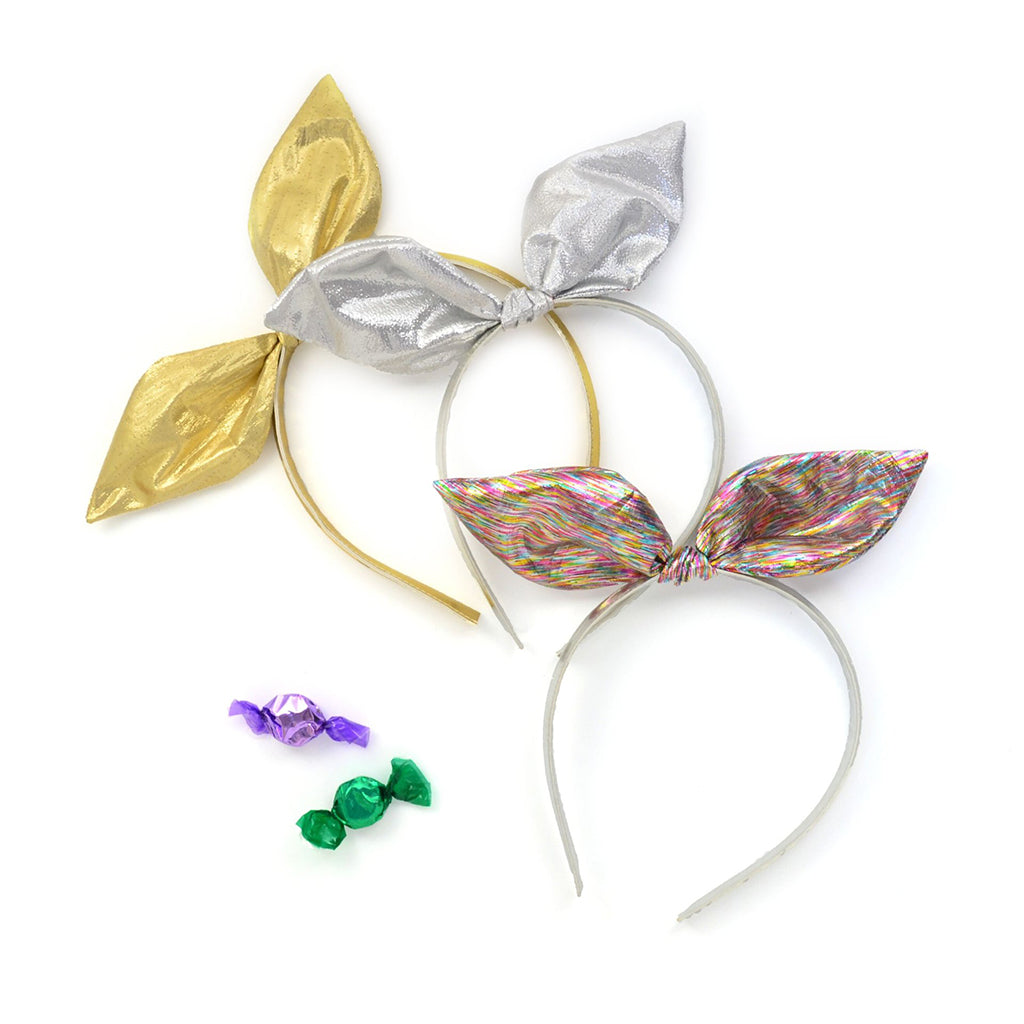 Hello Shiso - Metallic Bow Headband in Gold or Rainbow | Mapamundi Kids