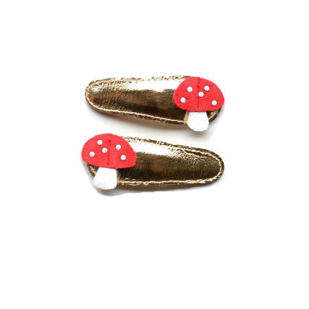 Hello Shiso - Mushroom Hair Clips - Designed in Berkeley, CA
