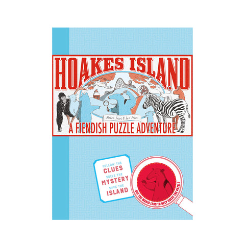 Hoakes Island: A Fiendish Puzzle Adventure by Helen and Ian Friel - Chronicle Books