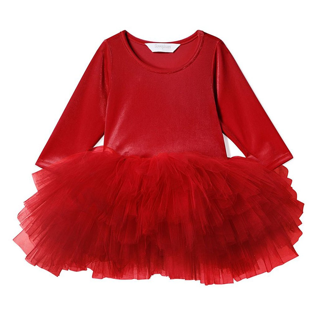 iloveplum - O.M.G. Tutu Dress - Rosy Red