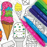 Ooly - Double Dip Ice Cream Scented Markers - Lifestyle