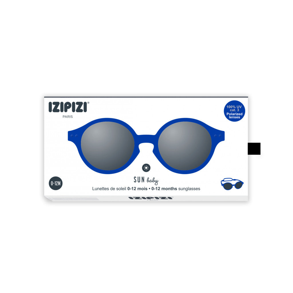 IZIPIZI - Baby Sunglasses - Marine Blue - Packaging