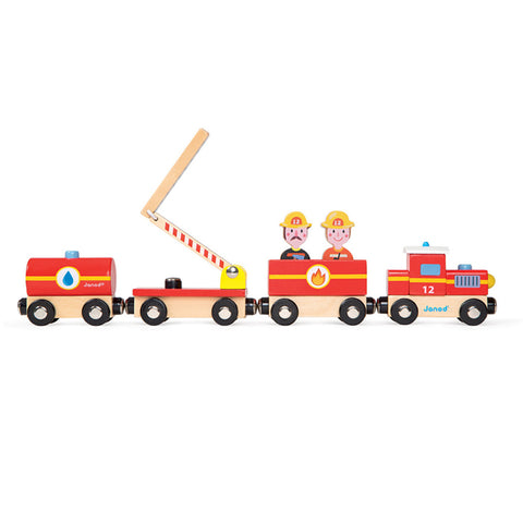 Janod - Story Train - Firefighter