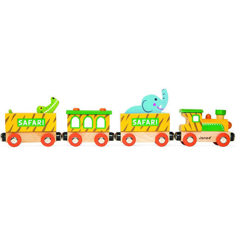 Janod - Story Train - Safari Train