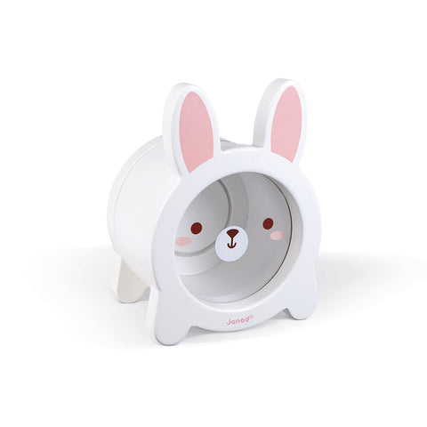 Janod - Wooden Animal Moneybox in Piggy and Bunny