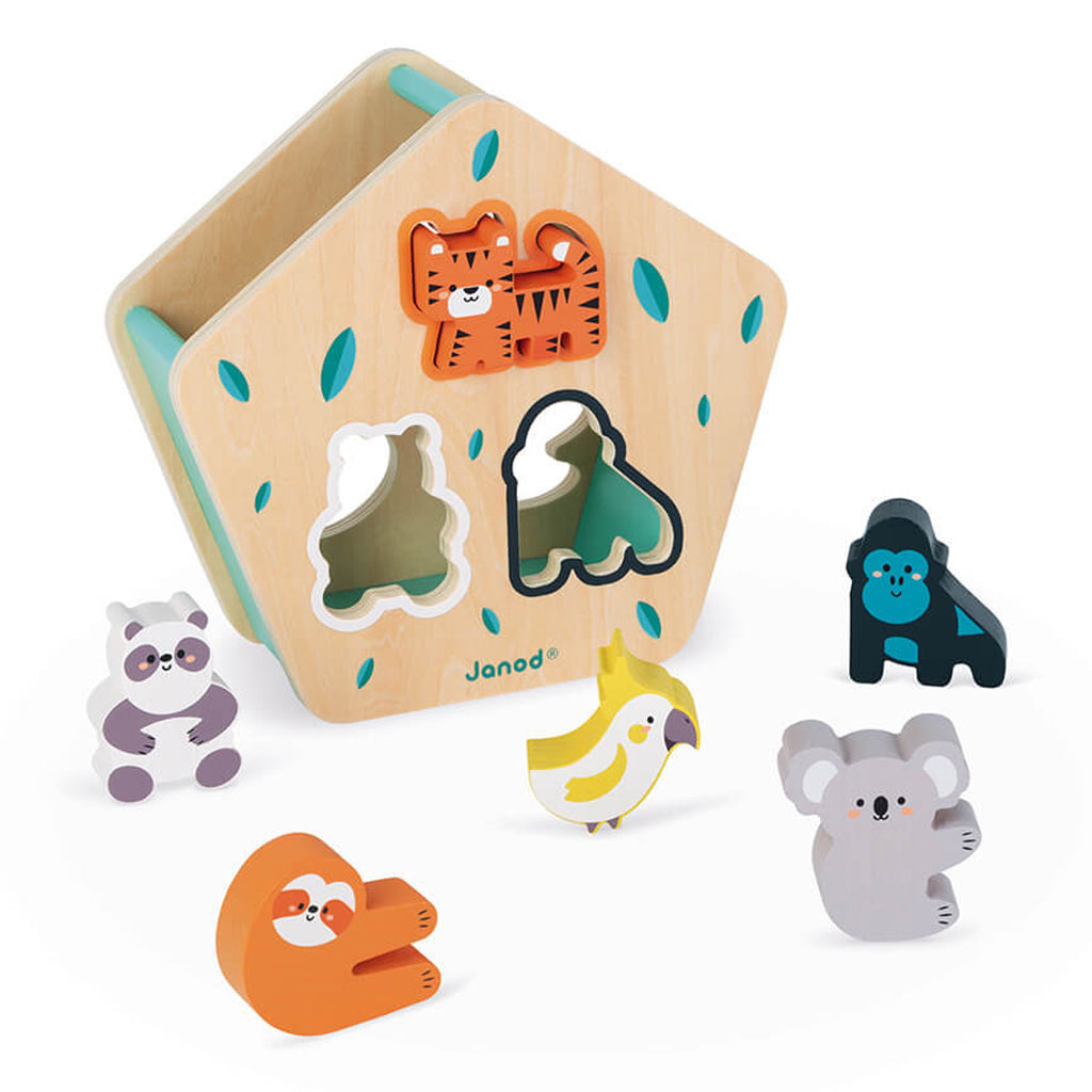 Janod x WWF - Wooden Animal Shape Sorter | Mapamundi Kids