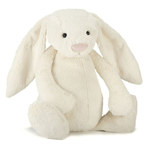 Bashful Cream Bunny - Really Big