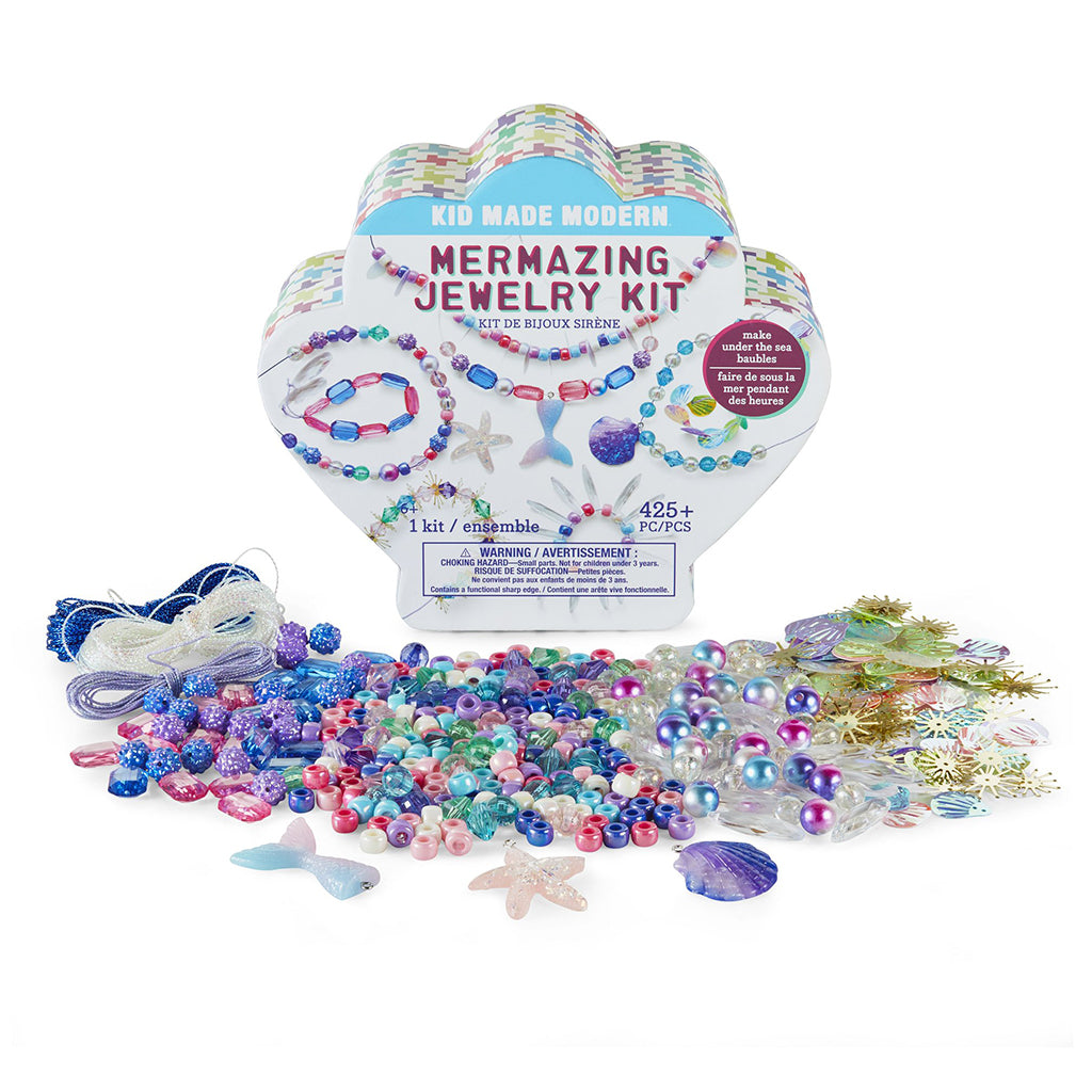 Kid Made Modern - Mermazing Jewelry Kit | Mapamundi Kids