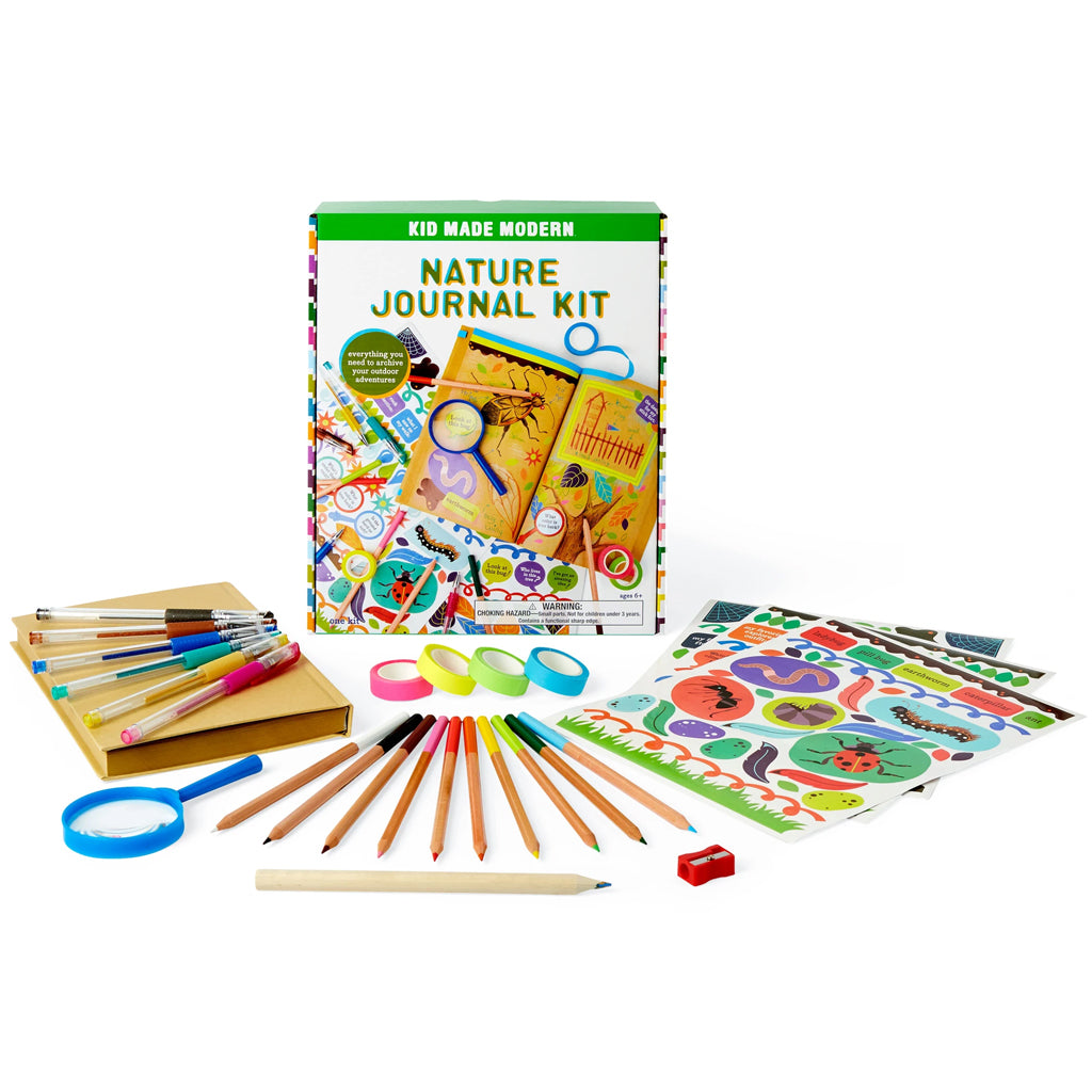Kid Made Modern - Nature Journal Kit | Mapamundi Kids