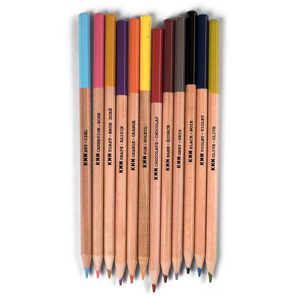 Kid Made Modern - On-The-Go Drawing Kit - Colored Pencils