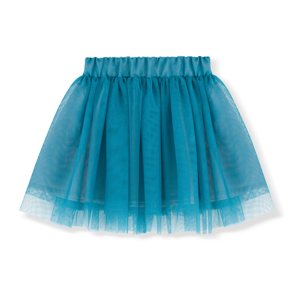 Kids on the Moon FW20 - Tutu Skirt - Aquamarine | Mapamundi Kids
