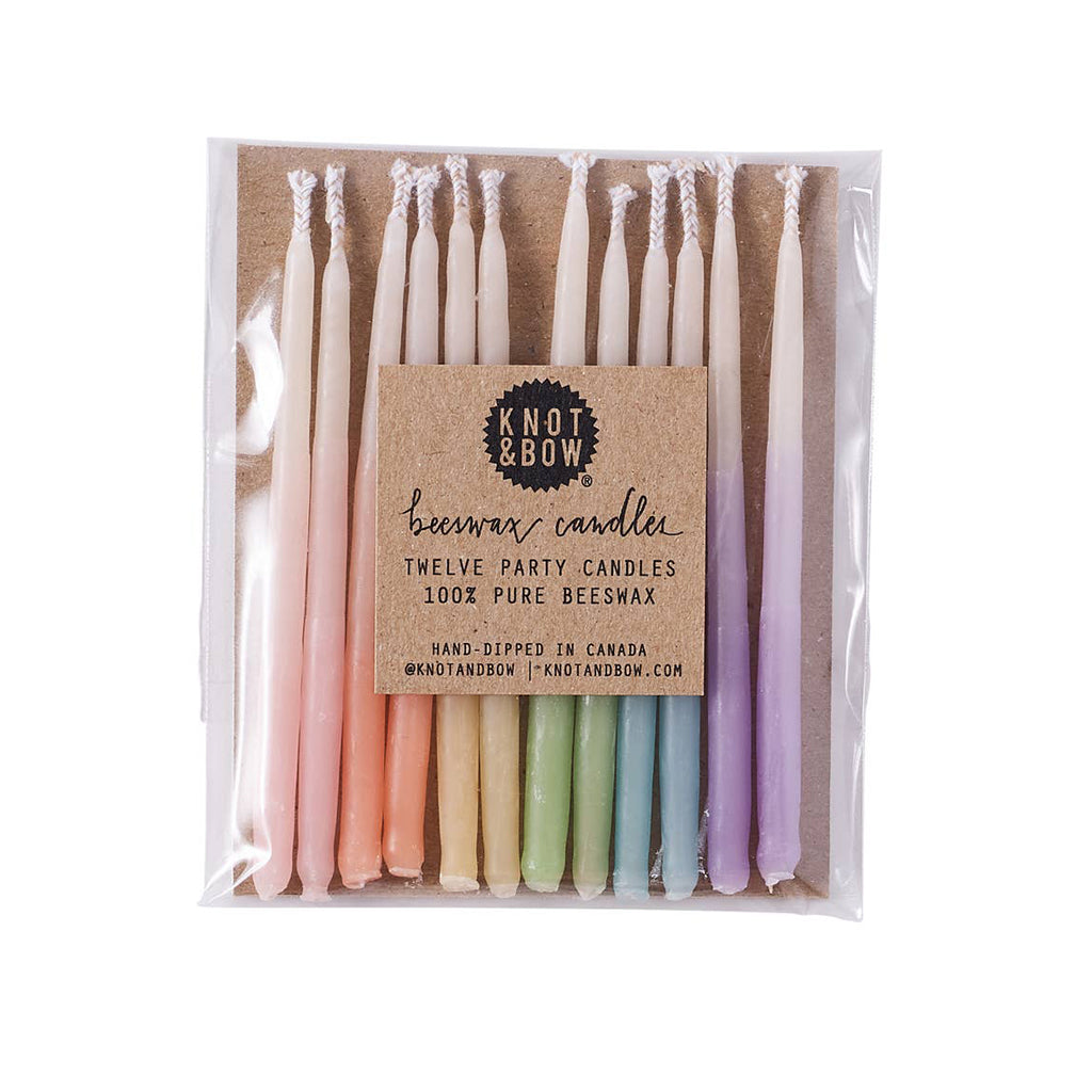 Knot & Bow - Beeswax Party Candles | Mapamundi Kids