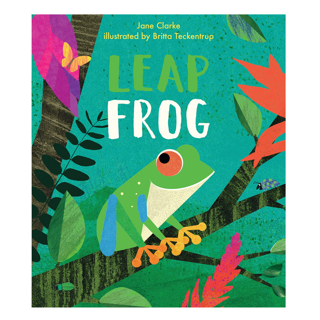 Leap Frog by Jane Clarke | Mapamundi Kids