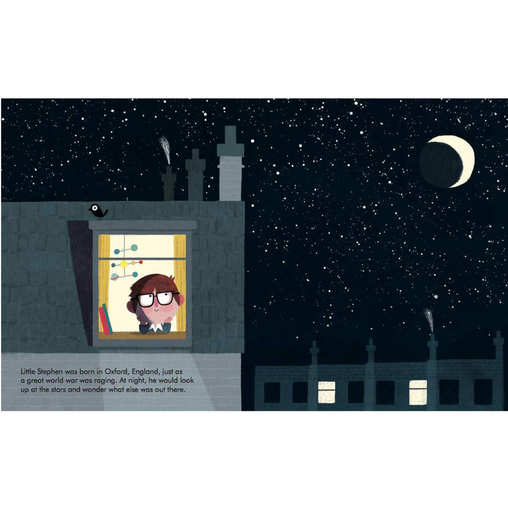 Little People Big Dreams: Stephen Hawking by Maria Isabel Sanchez Vergara