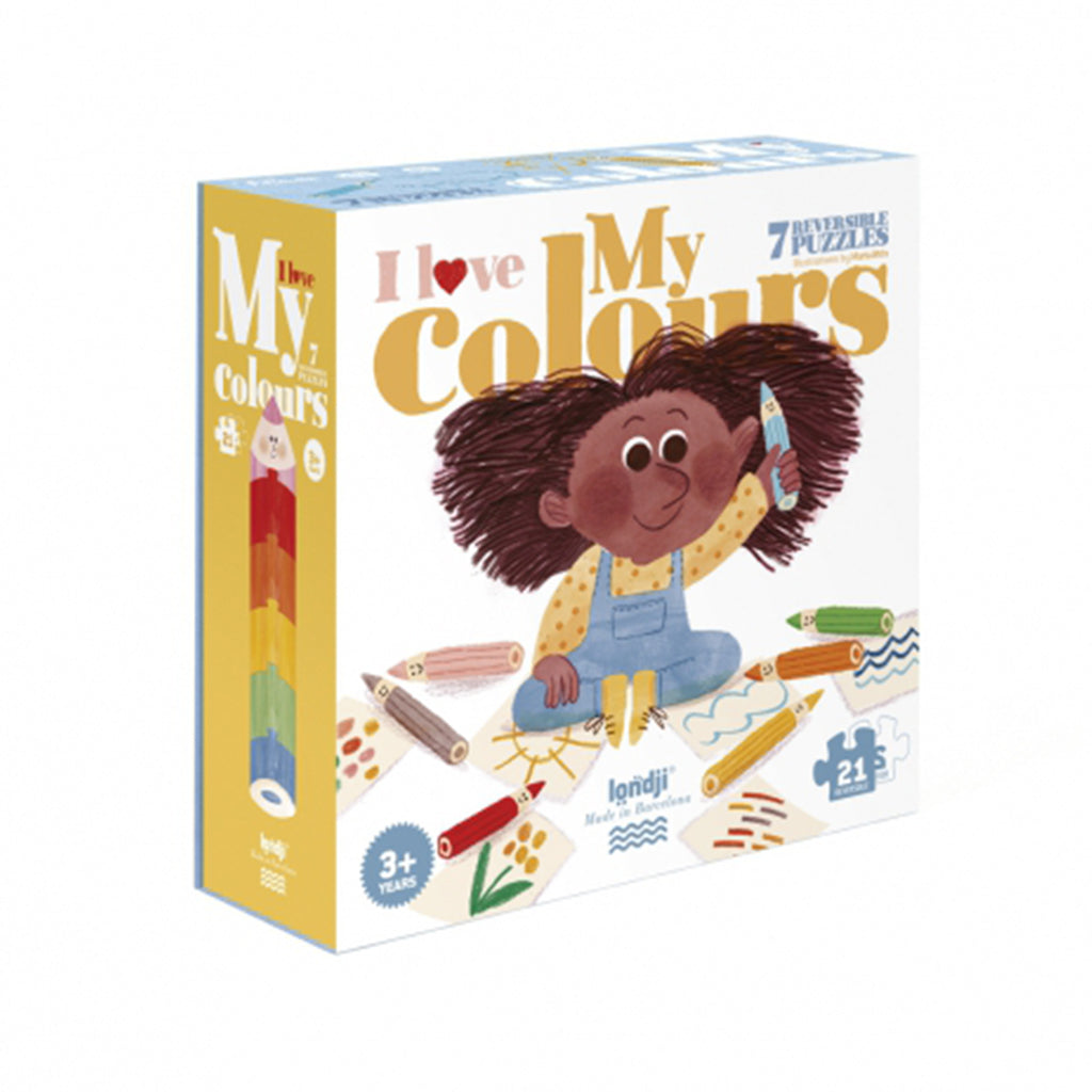 Londji - I Love My Colors 21 Pc Puzzle | Mapamundi Kids
